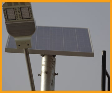 solar street lights in sindh