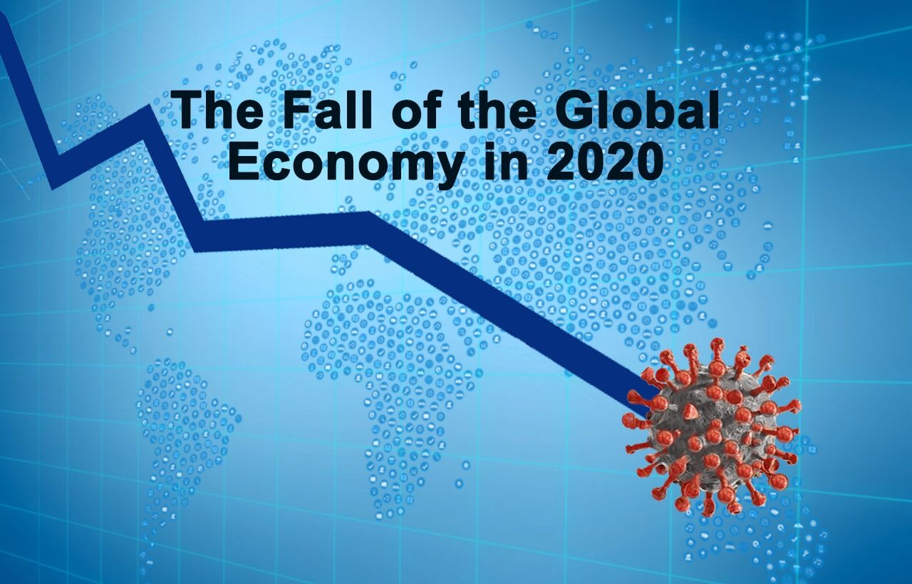 fall of the world economy 2020