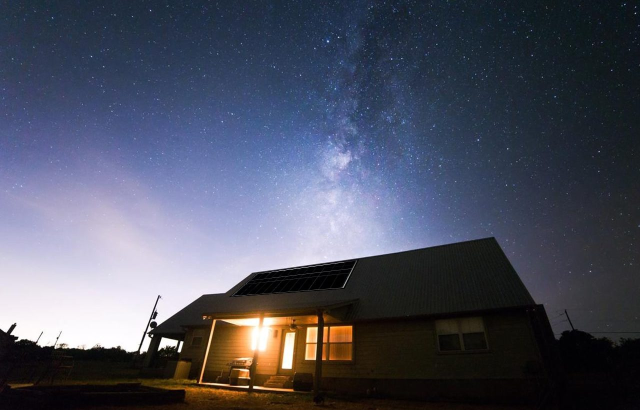 Anti-Solar Panels Could Generate Power at Night